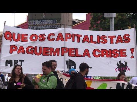 Grève générale au Brésil, le transport fortement perturbé à Rio