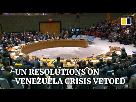 Global split over how to deal with Venezuela crisis