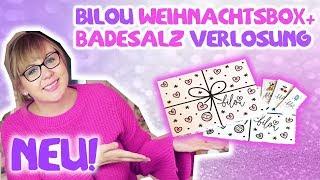 Bilou Box 2018 + Badesalz: Verlosung + Live Test Unboxing