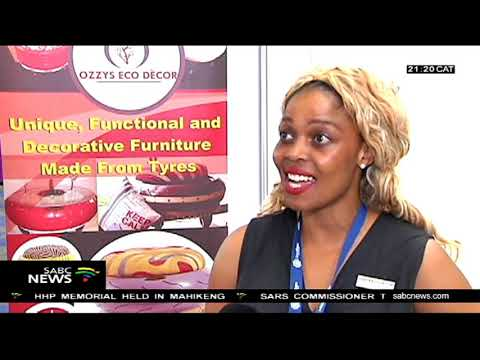 Entrepreneurs display their products at Global Expo Botswana