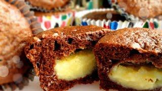 Cupcake que já sai Recheado do Fogo – Super Fácil