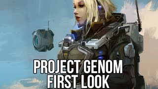 Project Genom (Sci-Fi MMORPG): Watcha Playin'? Gameplay First Look