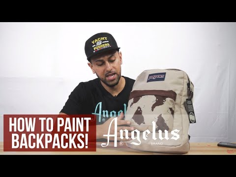 Desert Camo Backpack | How To Customize Backpacks | Angelus Paints