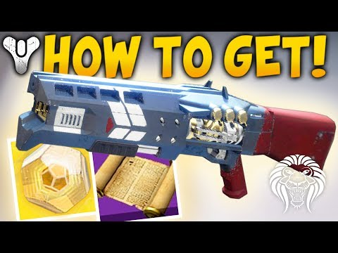 Destiny 2: HOW TO GET THE LEGEND OF ACRIUS - New Exotic Raid Quest Completion & Gameplay