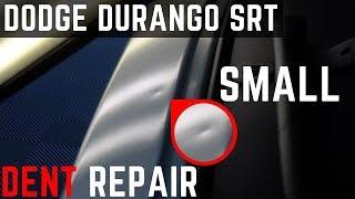 Paintless Dent Repair on Dodge Durango SRT Small Dent | Ars Dent Repair