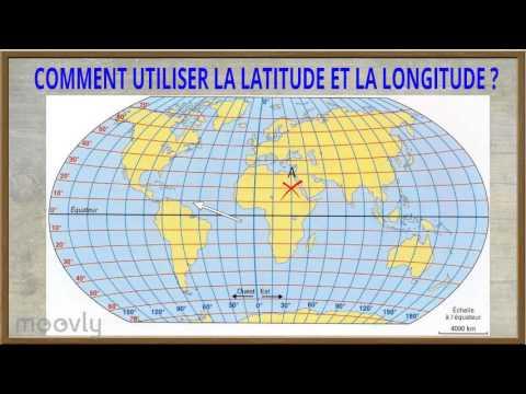 Géographie - La latitude et la longitude