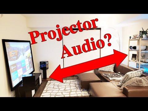 hook up projector to soundbar