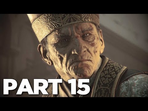 A PLAGUE TALE INNOCENCE Walkthrough Gameplay Part 15 - IMPERIUM (PS4 Pro)
