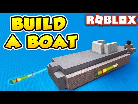 SIMPLE SUBMARINE in Build a Boat for Treasure | Roblox