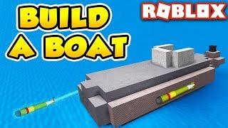 SIMPLE SUBMARINE in Build a Boat for Treasure | Roblox