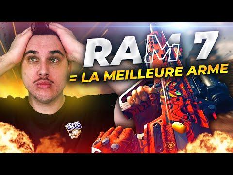 ACTUELLEMENT LA RAM 7 C'EST LA MEILLEURE ARME DU JEU
