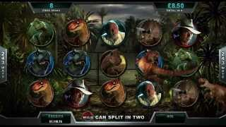 Jurassic Park slot game [Wild Jackpots Casino]