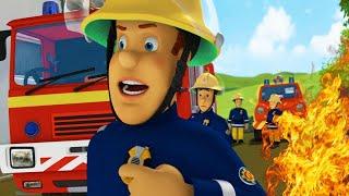 Sam el Bombero Español 🌟Correr del fuego  - 1 hora Compilación de episodios 🔥Dibujos animad
