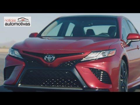 Novo Toyota Camry 2018 - NoticiasAutomotivas.com.br