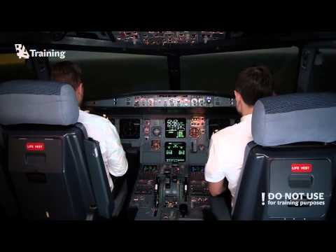 Airbus A320 Engine #1 flameout in cruise - Baltic Aviation Academy - A320 Type Rating
