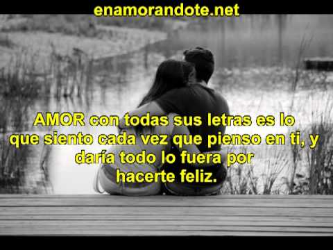 Frases Bonitas De Amor Para Mi Novia Youtube