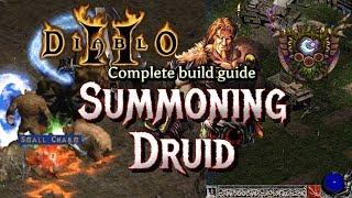 Summon Druid Clears Uber Diablo Easy - Full Build and Tutorial - Diablo 2