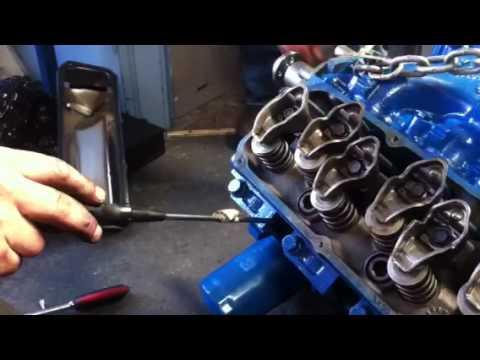 Ford 302 Firing Order >> 351 engine valve timing incorrect. - YouTube