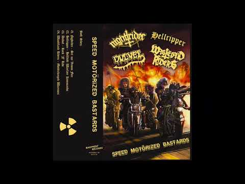 V/A - Speed Motörized Bastards (4 Way split tape)