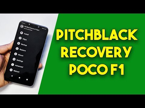 Install PitchBlack Recovery on POCO F1 | POCOPHONE F1
