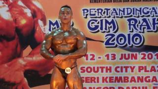 GR2010 Above 75kg: Mark Allan Mogindol (Sabah)