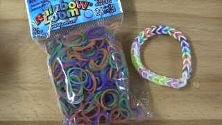 NEW Rainbow Loom Color Changing Chameleon Bands Review / Overview Thumbnail