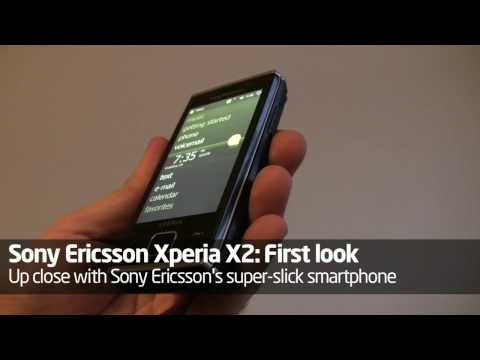 Sony Ericsson Xperia X2 in the flesh