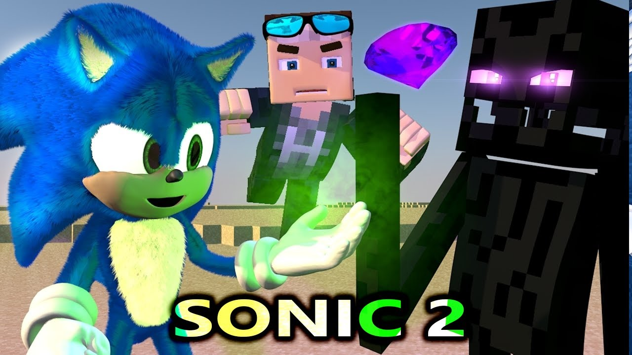 Sonic The Hedgehog Movie In Minecraft Episode 2 Official Minecraft Animation Series Youtube