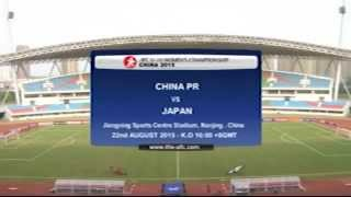 Match #09 - AFC U-19 Women's Championship China 2015 - China vs Japan
