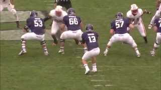 Northwestern Football - Wisconsin highlights (10/4/14)