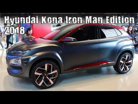 All New 2018 Hyundai Kona Iron Man Special Edition