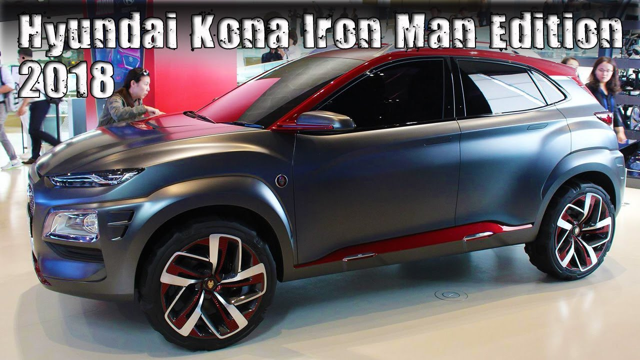 all new 2018 hyundai kona iron man special edition youtube. Black Bedroom Furniture Sets. Home Design Ideas