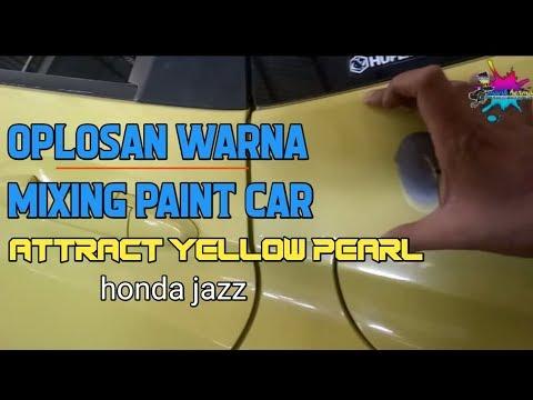 "Oplosan Warna/mixing Paint Car""ATTRACT YELLOW PEARL""honda Jazz"