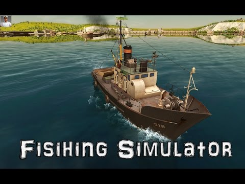 European Ship Simulator Gameplay: Let's go fishing!!