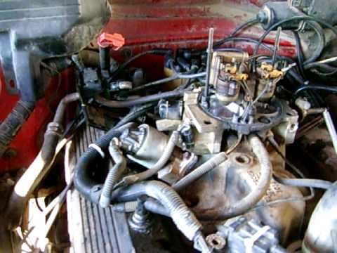 350 Tbi Wiring Diagram Fuel 1994 Gmc 1 Ton 454 Motor Tbi Youtube