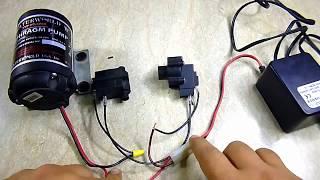توصيلات الكهرباء لفلتر 7 مراحل