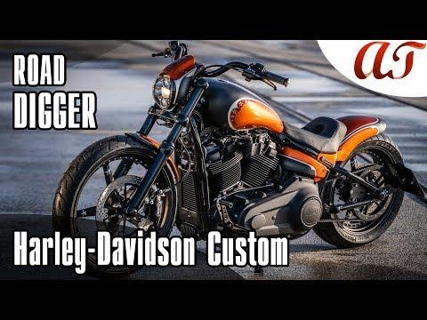 2019 Harley-Davidson STREET BOB Custom: ROAD DIGGER * A&T Design