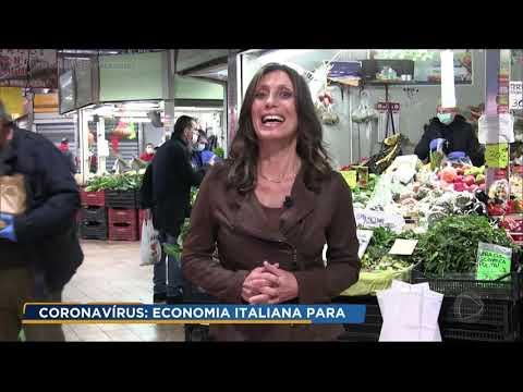 Efeitos do isolamento já são sentidos na economia da Itália