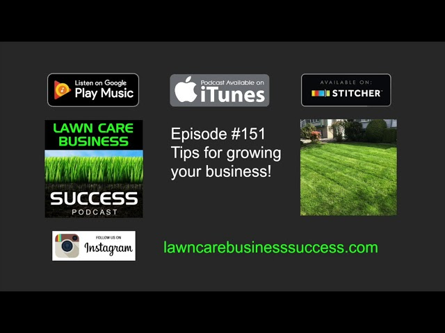 Episode #151 Tips for growing your business!