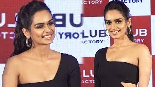Miss World Manushi Chhillar At The Launch Of A Clothing Brand