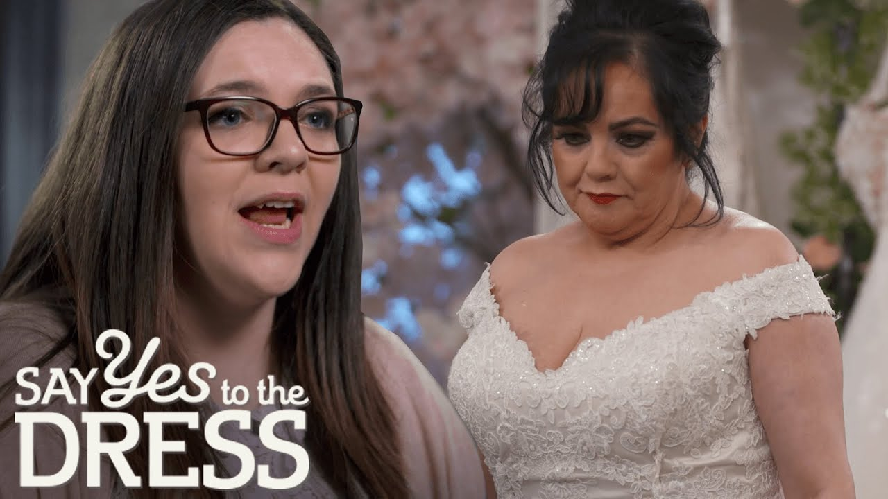 20 Year Old Bride's Entourage Doesn't Think Dress Is Appropriate   Say Yes  To The Dress Lancashire