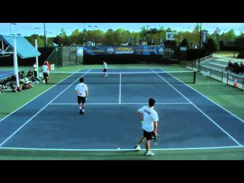 USTA Tennis on Campus 2016 National Championships live streaming -- Day 2 Part 1