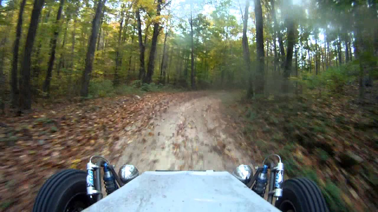 4X4 Off Road >> Woods Buggy - Off road Ecotec 2.4 supercharged Short trail section - YouTube