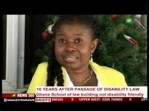 News360 - Ghana law school building not disability friendly - 11/1/2016