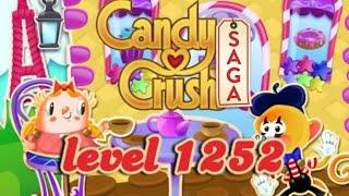 Candy Crush Saga Level 1252 - ★★★