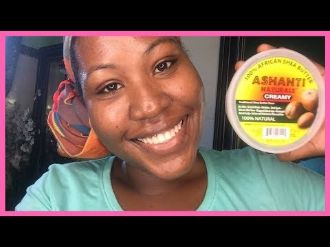 BENEFITS OF USING RAW SHEA BUTTER ON YOUR FACE AND DEALING WITH UNEVEN SKINTONE FROM BLEACHING