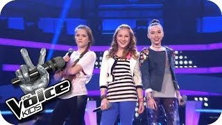 Jessie J. - Domino (Sarah, Alexandra, Rita) | The Voice Kids 2013 | Battle | SAT.1