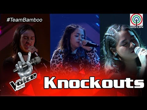 The Voice Teens Philippines Knockout Round: Patricia vs. Bea vs. Isabela
