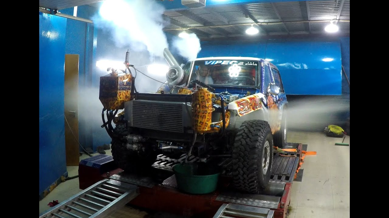 1500hp  Toyota Engine Blow Up I Dyno