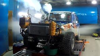1500HP+ Toyota Engine Blow Up i Dyno